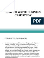 Business Case Study Format (1)