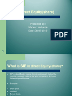 SIP-direct equity PRESENTATION.ppt
