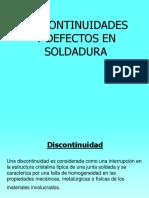 Discontinuidades y Defectos de Soldadura