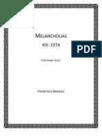 Melancholias XIII