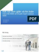 _Cisco SD-WAN Technical Training - VN_05Jun19_LamDoan