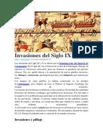 Invasiones Del Siglo IX y X