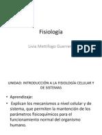 Fisiología  introdución