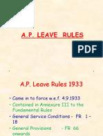 AP Leave Rules