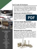 Parafuel Crude Oil Analyzer