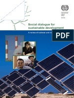 Social dialogue for sustainable development. A review of national and regional experiences. (2012)