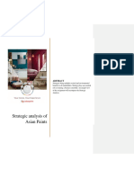 Strategic Analysis of Asian Paints-1