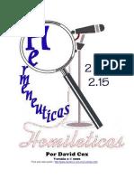 David Cox - HERMENÉUTICAS Y HOMILÉTICAS.pdf