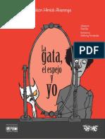 Nelson Himiob Alvarenga, La gata, el espero y yo, ilustrado por Anthony Fernández