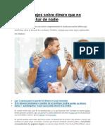 Los 4 Consejos Sobre Dinero Que No Debe Escuchar de Nadie