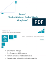 Presentación_M4T1_Diseño BIM Con ArchiCAD de Graphisoft