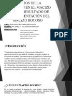 GRUPO 5-EFECTOS DE LA VIBRACIÓN EN EL MASISO ROCOSO, RESULTADO DE LA FRAGMENTACIÓN DEL MACIZO ROCOSO.pptx