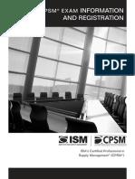 CPSM 2014 Certification Handbook