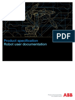 Robot User Documentation ABB