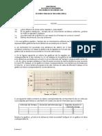Examen de Fisica Mecánica