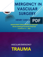 emergency in vascular surgery