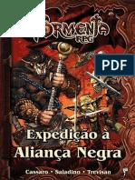 Tormenta RPG - Expedição à Aliança Negra
