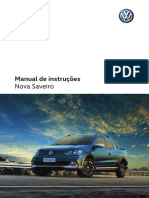 Manual de intruçoes nova saveiro