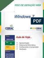 Aula 1 - Gew - Windows7