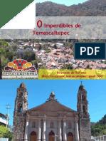 Los 10 Imperdibles de Temascaltepec
