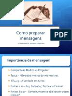Como preparar mensagens