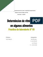 Informe Practica 3 Quimica Organica