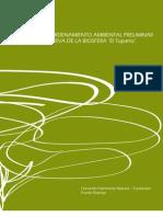 """Propuesta de ordenamiento ambiental preliminar de la Reserva de la Biosfera """"El Tuparro"""""""