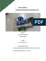 Nota Kursus Bengkel Asas Robotik Berasaskan Arduino UNO Di JPN