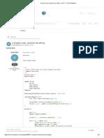 Caracter nulo, termino de string - C_C++ - Fórum iMasters
