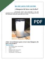 Lámpara de Lava Con Lech1