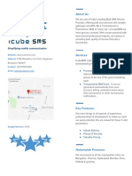 IcubeSMS Company Profile