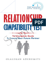 Relationship compatibility test