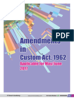 Customs Amendments 2017