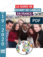 Publication Guide de l'Assistant de Langues Vivantes 2019-2020