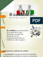 Efectos Del Conflicto