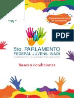 Bases y Condiciones Parlamento 2019