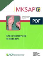 MKSAP endocrinology and metabolism
