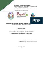 EVALUACION DE SISTEMA DE RIEGO POR ASPERSION