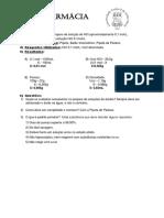 Relatório de Química Analítica Quantitativa Experimental