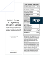 Leith's Guide to Large Group Intervention Methods - Martin Leith