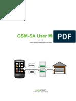 GSM SA User Manual v1.03