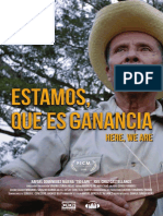 "Cartel ""Estamos, que es ganancia"""