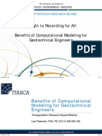 Geotechnical FEA Modelling TRB