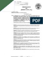 DPW/JCIA Merger ordinance