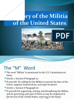A History of the Militia of the United