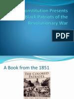 Black Patriots of the Revolutionary