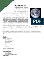 Habitabilidad Planetaria - Wikipedia, La Enciclopedia Libre
