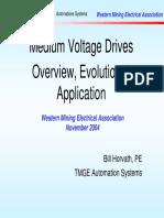 GE Medium Voltage Drives