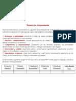 Formato de AutoevaluaciónIV