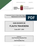 Guía docente de flauta transversa
